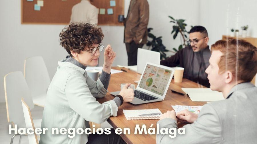 Hacer negocios en Málaga